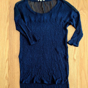 Anthropologie Pure+Good Tunic Sweater
